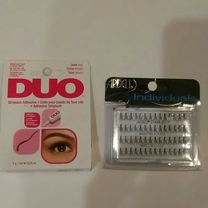 Ardell eyelashes and glue